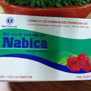 Nabica bột rửa vệ sinh phụ nữ 2