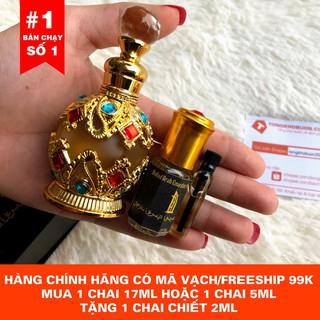 [TẶNG KÈM VIAL THỬ MÙI] Tinh dầu nước hoa Dubai Gold dạng lăn 5ml và 15ml, dạng chấm 17ml thumbnail