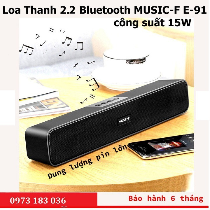 Loa thanh Soundbar Bluetooth 5.1 LEERFEI E-91