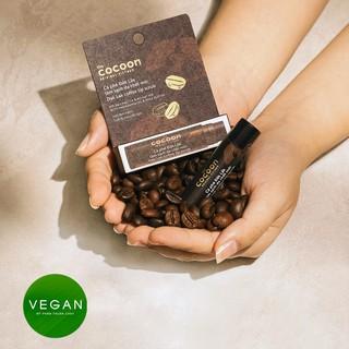 Hình ảnh Combo son tẩy da chết môi Cà phê đắk lắk cocoon5g+son dưỡng môi dầu dừa bến tre cocoon5g-6