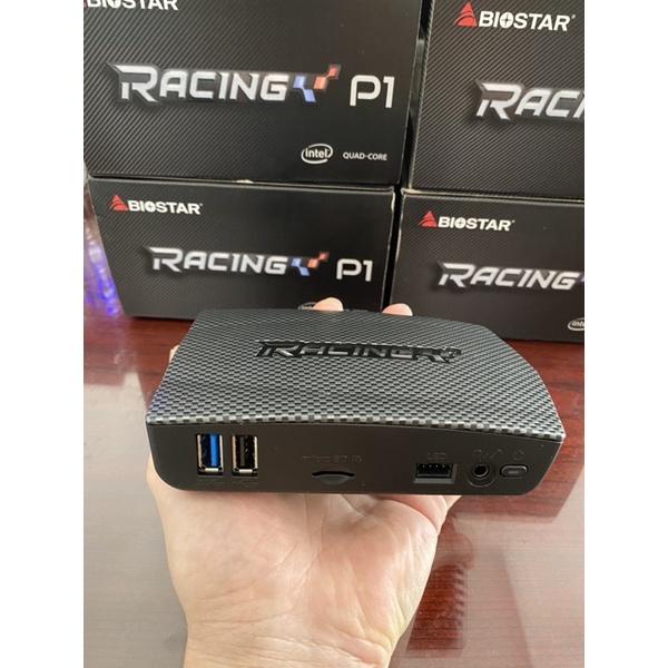 [Mã 2010ELSALE hoàn 7% đơn 300K] Máy tính siêu Mini Biostar Racing P1/ Z8350/ Ram 4G new/ box