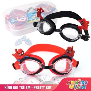Kính bơi trẻ em cho bé trai từ 5 đến 14 tuổi theo nhân vật hoạt hình mà bé yêu thích