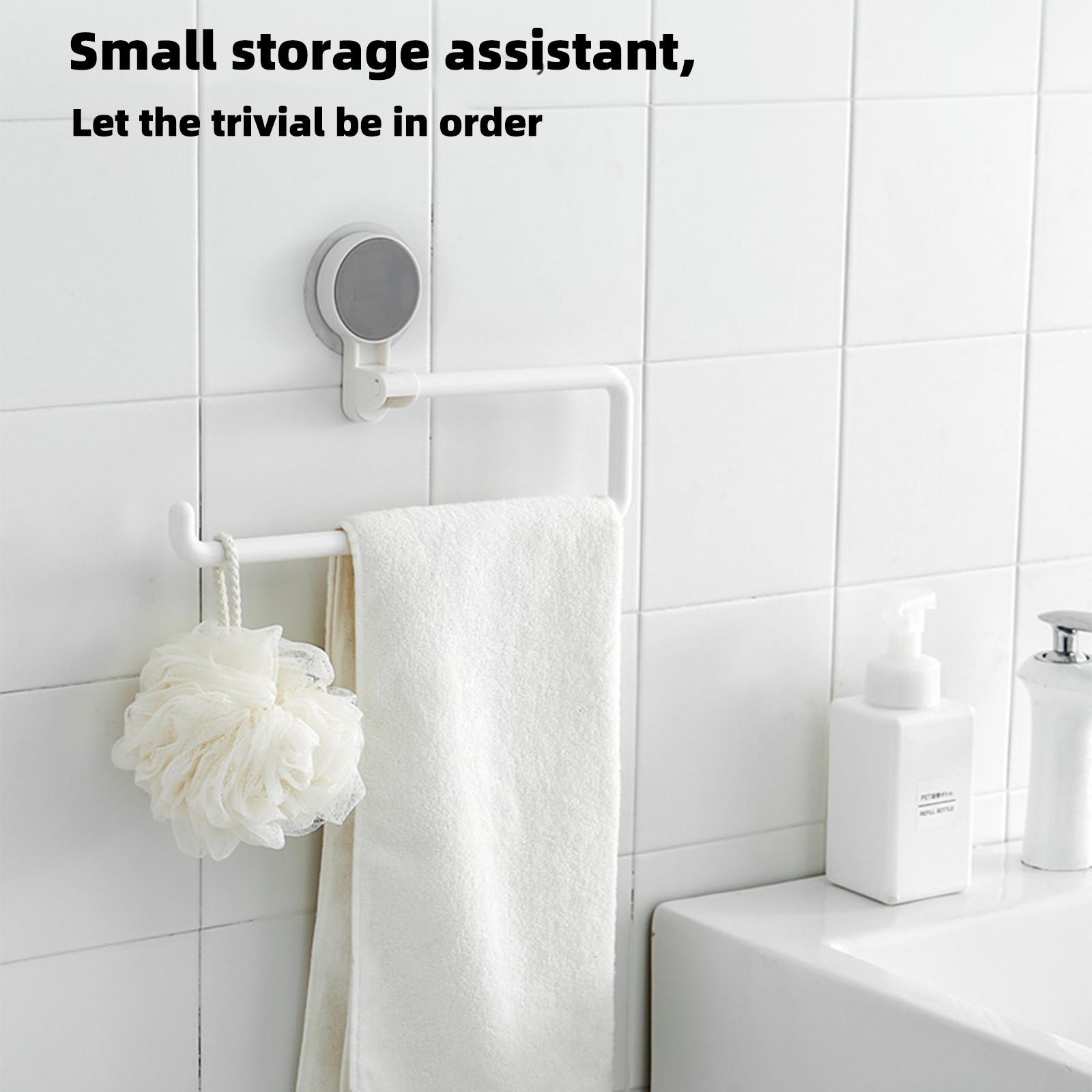 1 Móc Treo Khăn Gắn Tường Tiện Lợi Cho Phòng Tắm / Nhà Bếp