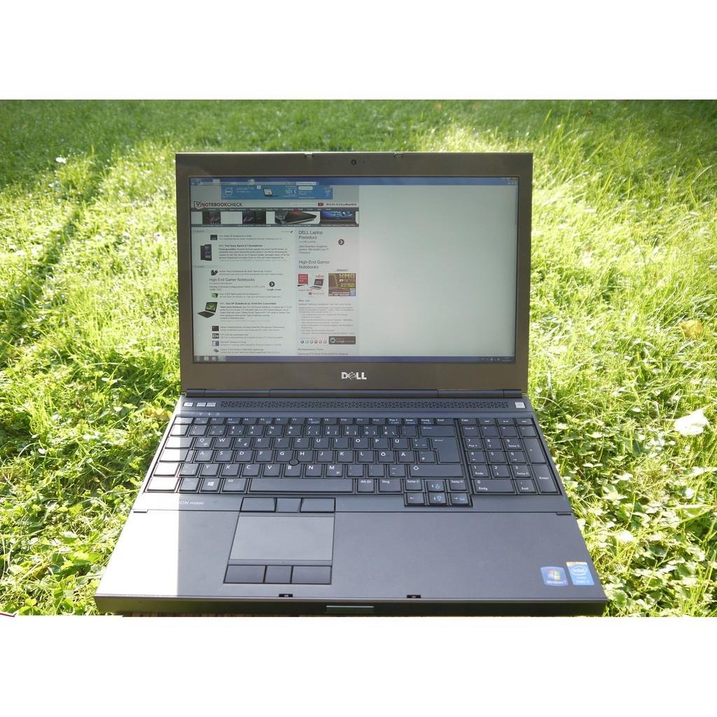 [Mã ELLAPTOP giảm 5% đơn 6TR]Laptop cũ dell precision M4800 i7 4800mq, ram 8gb, ssd 256gb, card k2100m, 15.6 inch fullhd