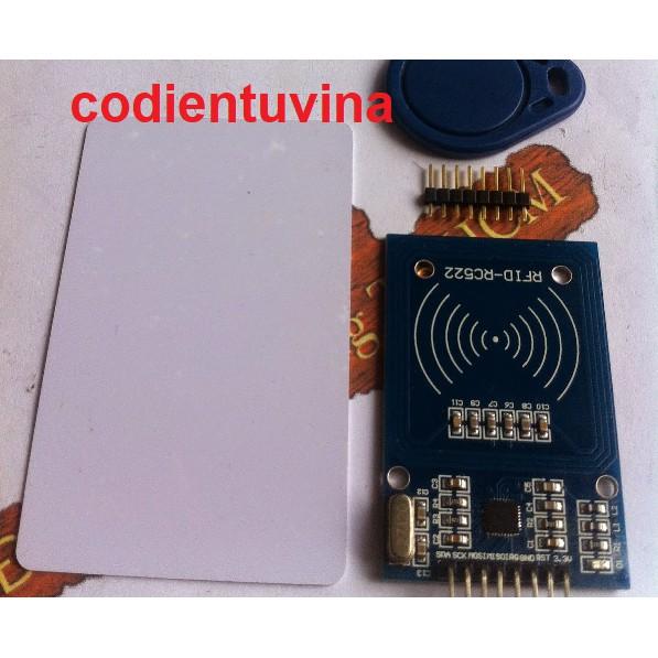 Mạch MODULE RFID RC522 - 3512485 , 696640930 , 322_696640930 , 45000 , Mach-MODULE-RFID-RC522-322_696640930 , shopee.vn , Mạch MODULE RFID RC522