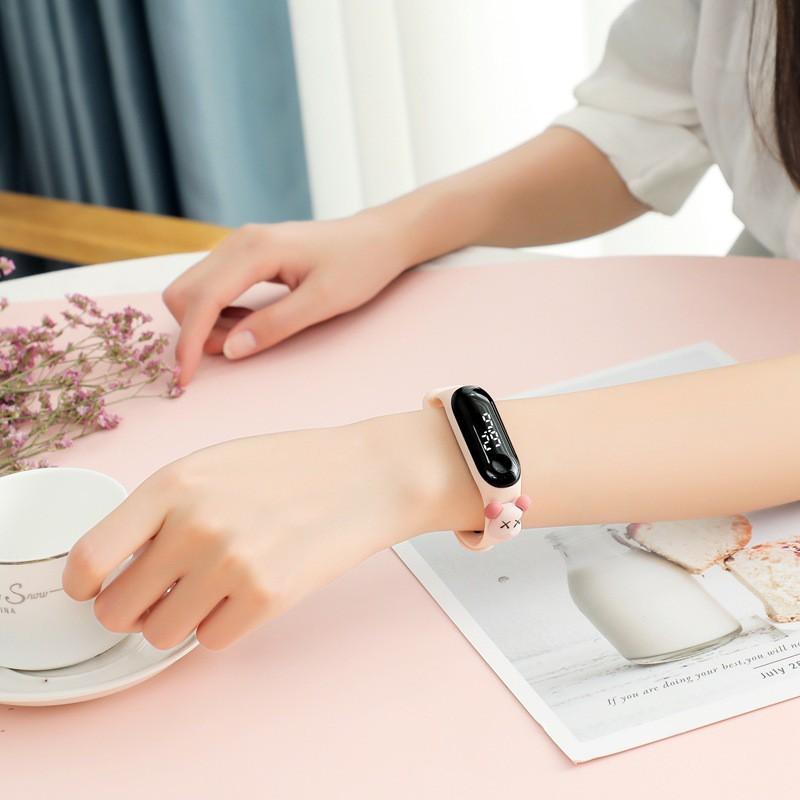 Đồng hồ nữ PAGINI LED Chống nước nhẹ - TE01