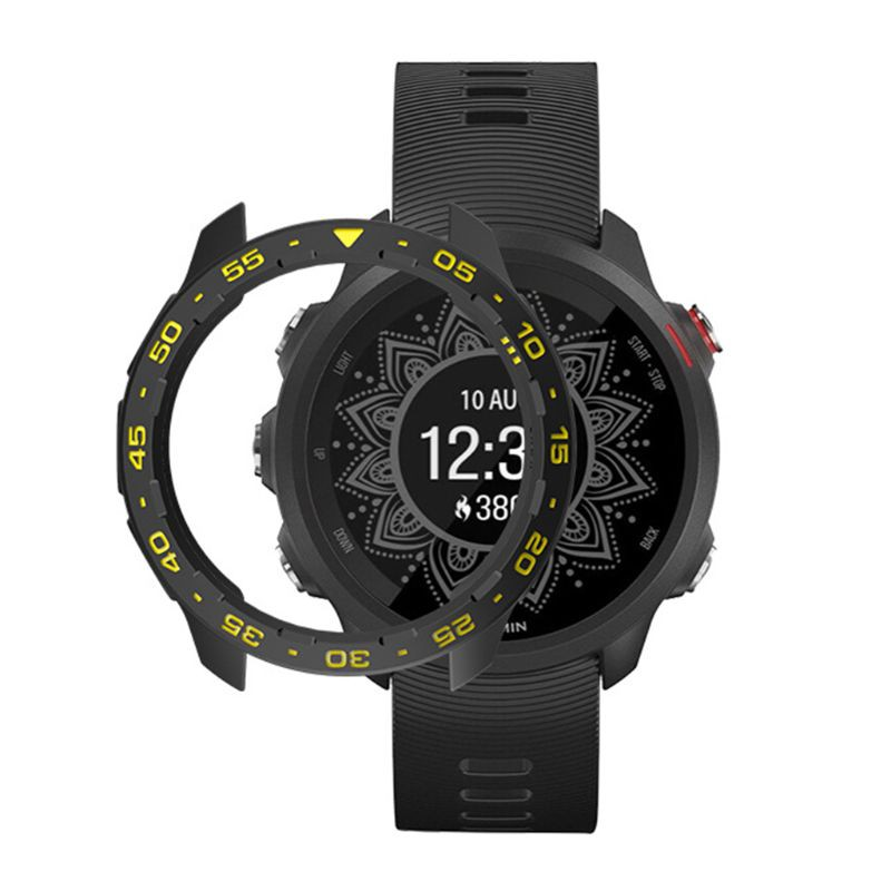 CRE TPU Watch Cover Case Protector Bumper for G-armin Forerunner 245M/245 Watch