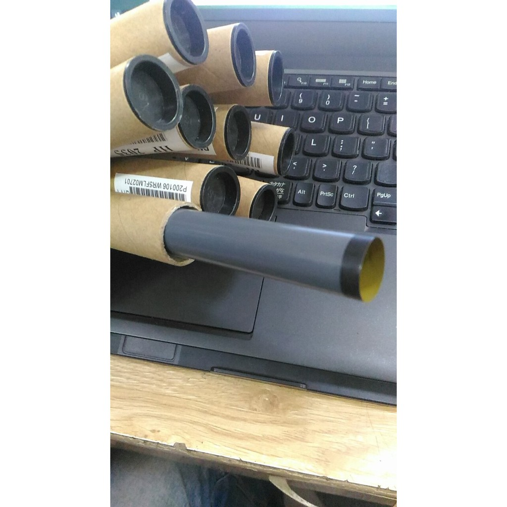 Vỏ bao lụa sấy máy in canon 2900 , 3300 , hp 2035 2055 - Bao lụa máy in - lụa ống xịn