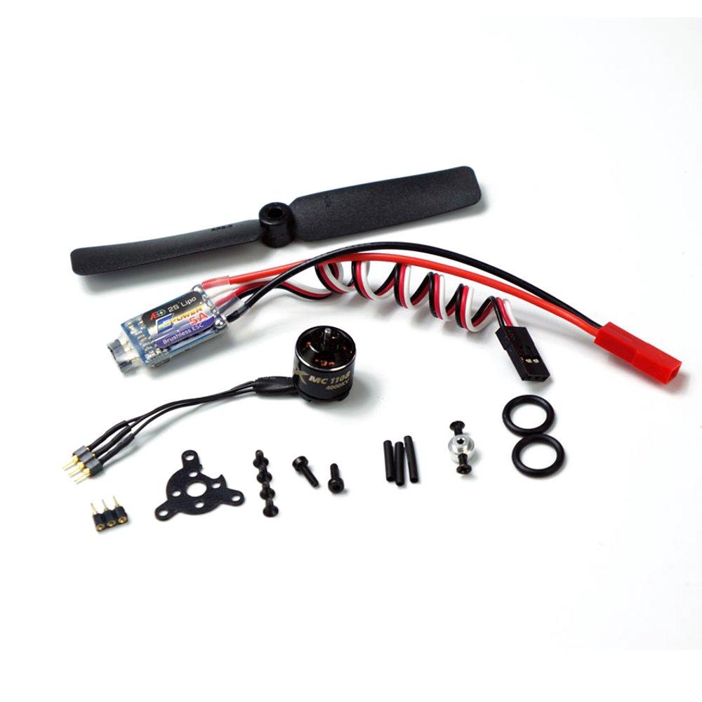 AEORC ACM1106 2S Micro Power System Combo Set MC1106 3800KV Brushless Motor