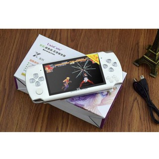 Máy chơi game cầm tay PSP, GBA, NES, MD,SFC 4.3 Inch PMP kết hợp xem phim và nghe nhạc thumbnail