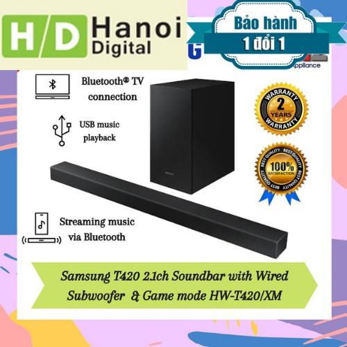 Loa thanh Samsung 2.1 HW-T420 150W   Bảo hành 12 tháng