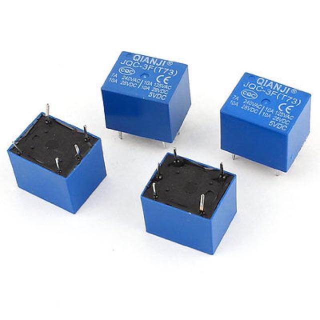 Relay 5 chân 12v màu xanh or đen - 2930232 , 1137501214 , 322_1137501214 , 6000 , Relay-5-chan-12v-mau-xanh-or-den-322_1137501214 , shopee.vn , Relay 5 chân 12v màu xanh or đen
