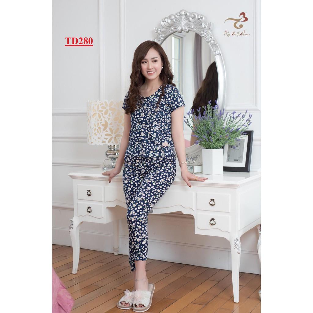 Đồ bộ mặc nhà 3T MYSELF HOME - Bộ thô áo cộc quần dài TD280 - 2911145 , 1032554997 , 322_1032554997 , 375000 , Do-bo-mac-nha-3T-MYSELF-HOME-Bo-tho-ao-coc-quan-dai-TD280-322_1032554997 , shopee.vn , Đồ bộ mặc nhà 3T MYSELF HOME - Bộ thô áo cộc quần dài TD280
