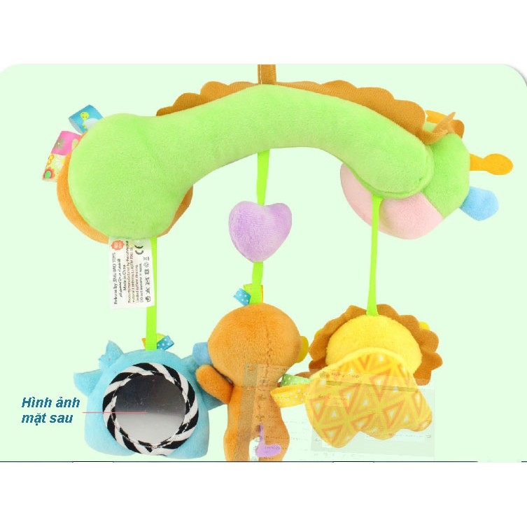 Đồ chơi cho bé sơ sinh - Thú bông treo nôi, cũi, xe đẩy TOLOLO