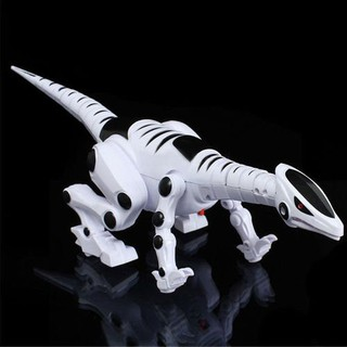 Electric toy large size walking dinosaur With Light Sound kids toys