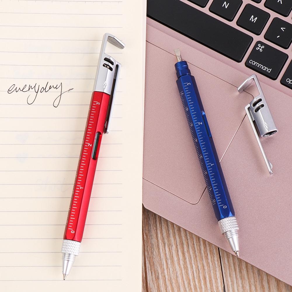 Bút Bi Kiêm Giá Đỡ Điện Thoại Đa Năng Tiện Dụng Cho Trường Học / Văn Phòng