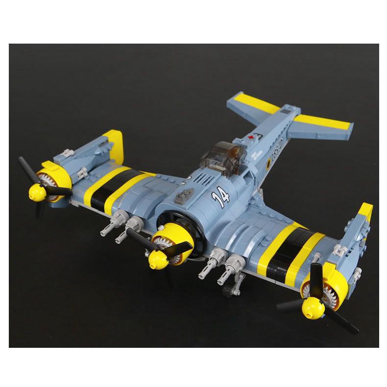 Compatible With MOC F-26 Lepin 22021 Technic Tempest Plane Model Bricks