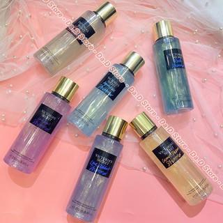 Xịt Body Mist FREESHIP Xịt thơm nhũ Shimmer Body Mist Victoria Secret 250ml - Chính Hãng - Đa dạng hương thơm thumbnail