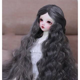 Bộ tóc giả cho búp bê bjd sd xinh xắn đáng yêu