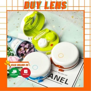 Máy rửa lens ❤️FREESHIP❤️ Máy rửa kính áp tròng tự động tiện dụng