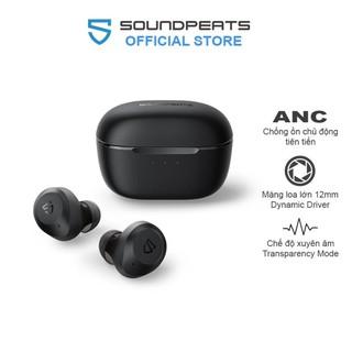Tai nghe True Wireless Earbuds SoundPEATS T2 Chống ồn ANC, Xuyên âm, Pin 10h, Bluetooth