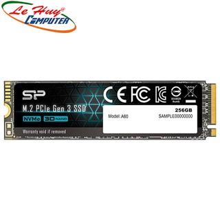 Ổ cứng SSD Silicon Power A60 256GB PCIe Gen3 x4 SP256GBP34A60M28 - Hàng Chính Hãng