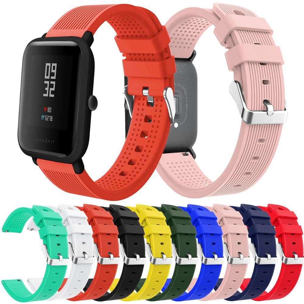 Dây đeo silicon mềm cho đồng hồ thông minh Huami Amazfit Bip Lite Youth