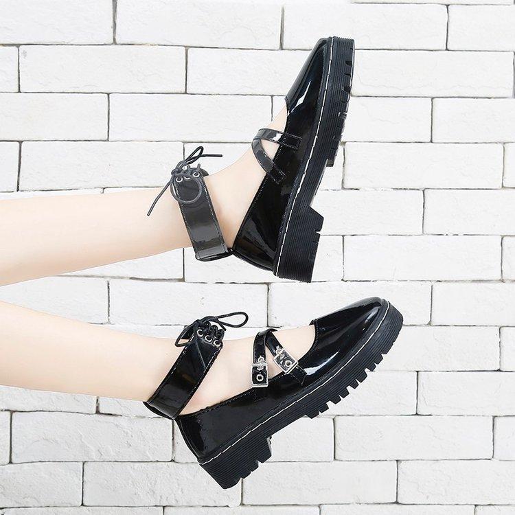 Giày Da Nữ Kiểu Dáng Thời Trang Cá Tính