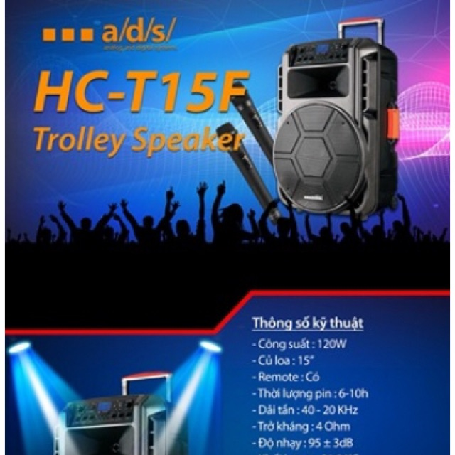 [SALE 10%] Loa kéo bluetooth a/d/s HC-T15F tặng 2 mic không dây - 2400097 , 1082357503 , 322_1082357503 , 3799000 , SALE-10Phan-Tram-Loa-keo-bluetooth-a-d-s-HC-T15F-tang-2-mic-khong-day-322_1082357503 , shopee.vn , [SALE 10%] Loa kéo bluetooth a/d/s HC-T15F tặng 2 mic không dây