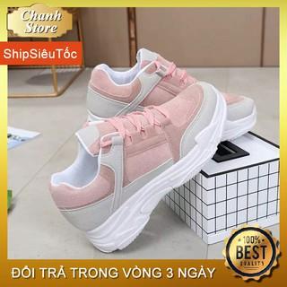 Giày Thể Thao Nữ 💖FREESHIP📛 Giày Nữ Độn Đế 5p Cực Tôn Dáng, Giày Quảng Châu Cao Cấp