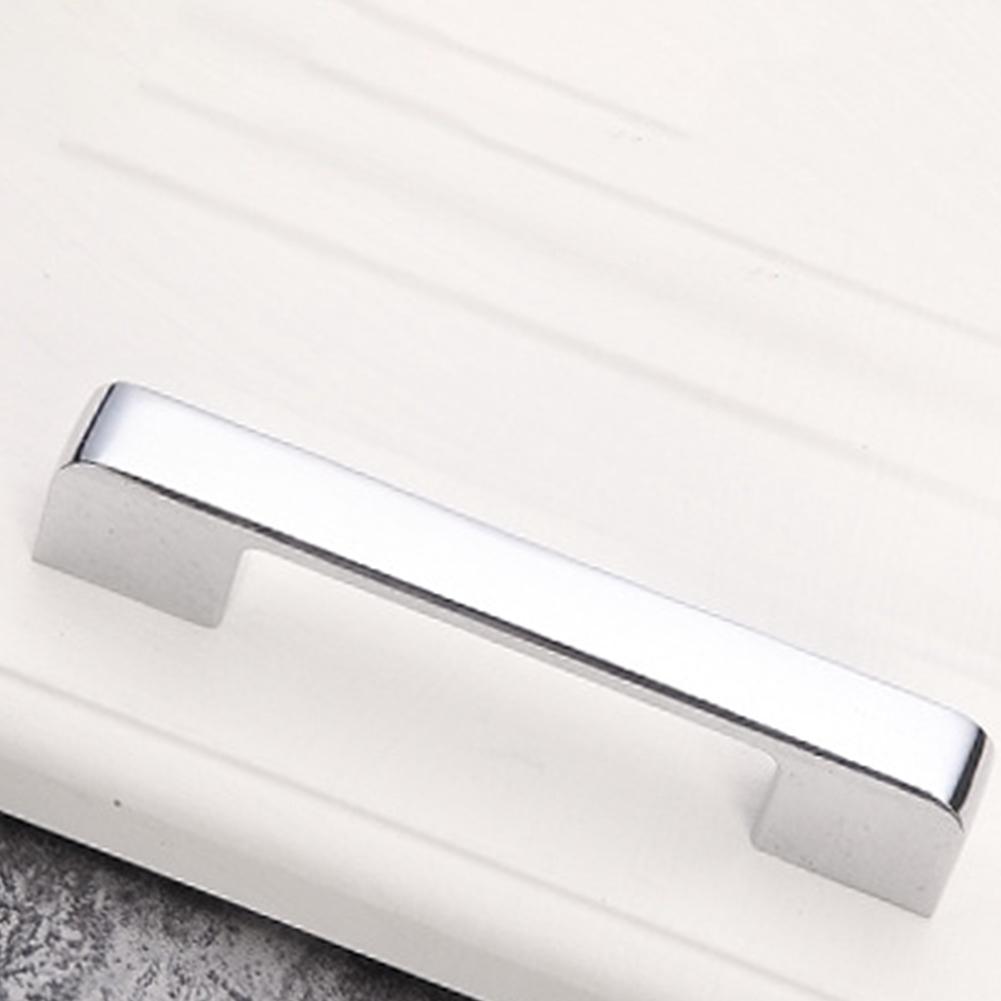 Zinc Alloy Cabinet Closet Kitchen Pull Home Slimline Cupboard Wardrobe Easy Install Drawer Handle