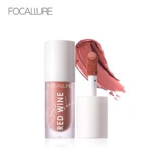 Kem trang điểm má hồng FOCALLURE HANGOVER RED WINE 4 màu đẹp tự nhiên tuỳ chọn 42g