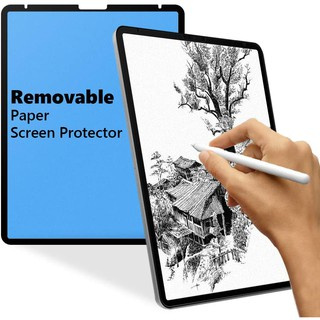 iPad Pro 12.9 inch 2021 Removable Magnetic Paperlike Screen Protector,Matte Screen Protector Film,Washable & Reusable,Anti-Glare,Anti-Fingerprint for iPad Pro 12.9 inch (2021 & 2020 & 2018)
