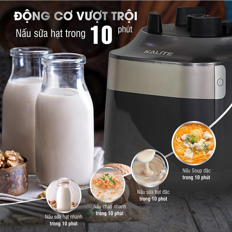 (Mã CHUTHI6 giảm 10K)Máy làm sữa hạt Kalite Pro 900,Made in Thailand(Tặng Chảo Đá Chia ô/Nồi Lẩu Mini) - Hàng Chính Hãng