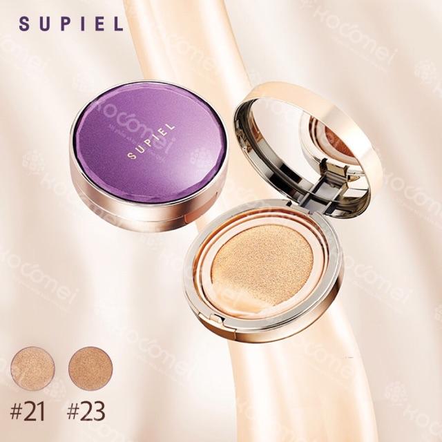 Phấn nước SUPIEL (1 hộp + refill) sáng da 21