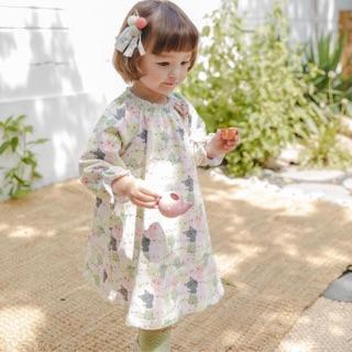Váy thun nỉ Bebezoo size 90-130 (2y-6y)