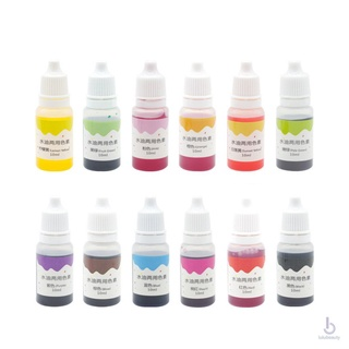 10ml Handmade Soap Dye Pigments Base Color Liquid Pigment DIY Manual Soap Colorant Tool Kit