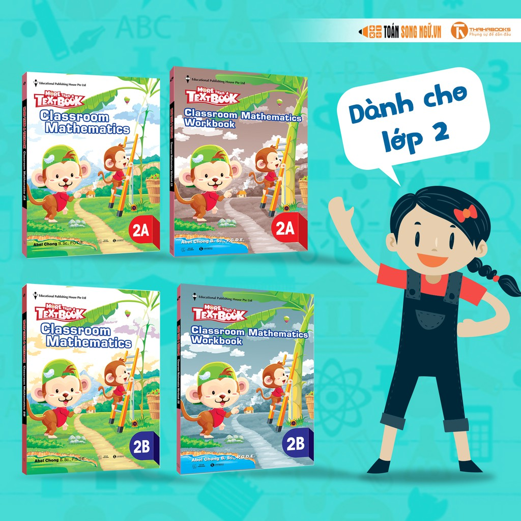 [Toán Song Ngữ] Bộ sách Giáo khoa Singapore – More than a Textbook – Classroom Mathematics Workbook