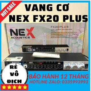 Vang cơ NEX Fx20plus, vang co nex fx 20 plus, thiết bị âm thanh karaoke, (tặng 2 dây canon kết nối phù hợp). thumbnail