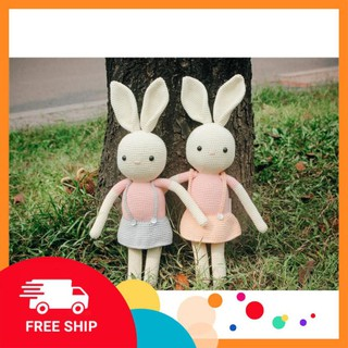 [The Bunny] [Xả Hàng] Set thỏ váy – Đồ chơi dễ thương cho bé – Toys made by The Bunny