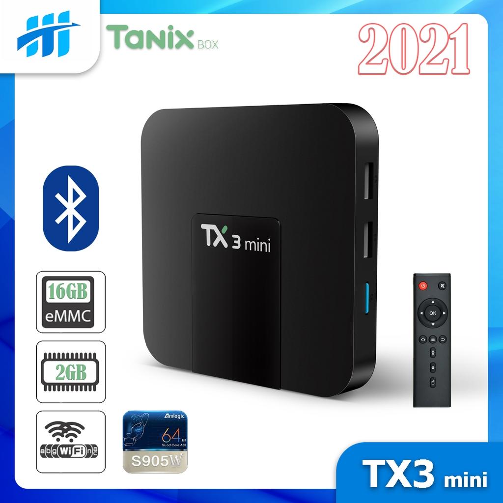Android Tivi Box TX3 mini - 2G Ram và 16G bộ nhớ, Bluetooth, AndroidTV 9 - BH 2 năm