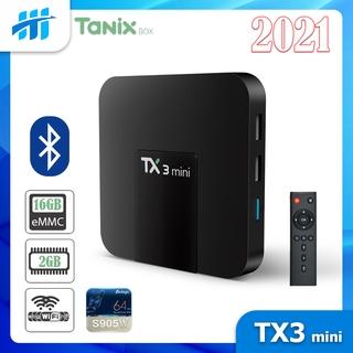 Android Tivi Box TX3 mini – 2G Ram và 16G bộ nhớ, Bluetooth, AndroidTV 9 – Phiên bản 2021