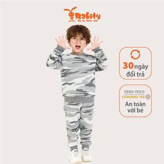 Bộ quần áo nỉ dài tay bé trai Rabity 90831