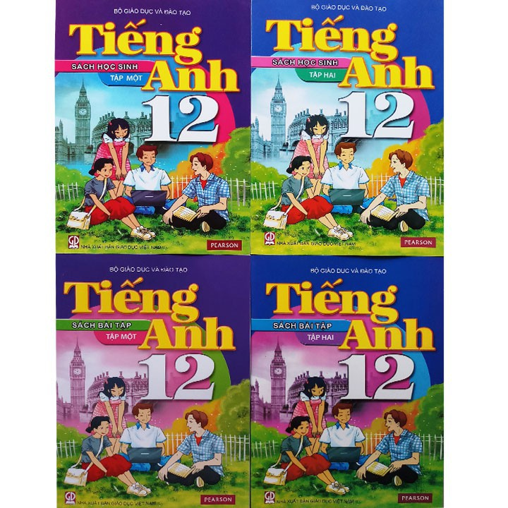 [Trọn bộ] Bộ sách giáo khoa lớp 12 + Sách bài tập lớp 12 ( gồm 23 quyển)