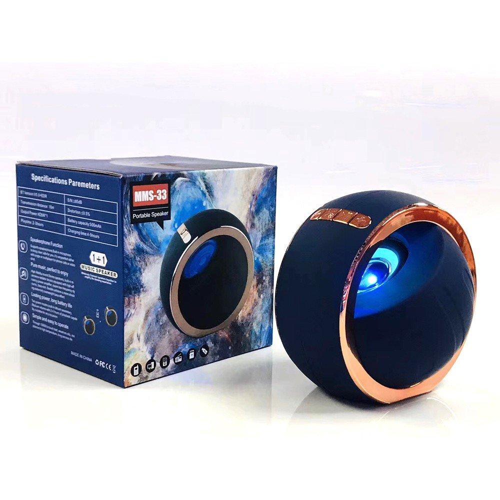 Loa Bluetooth MMS-33 - Loa Bluetooth Không Dây Có Đèn LED Nhiều Màu MMS-33 -
