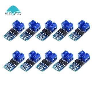 10PCS DC 5V-36V 15A(Max 30A) MOSFET MOS FET Trigger Switch Driver ule 0-20KHz PWM Regulator Control Panel