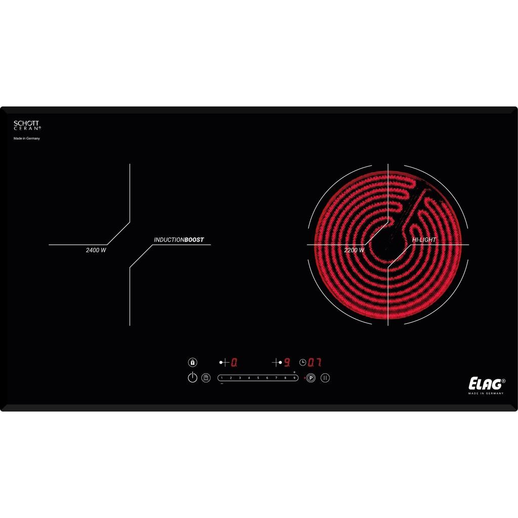 Bếp từ - Hồng ngoại ELAG KMH 73520.2-P Nhập Khẩu Đức điều khiển cảm ứng 9  cấp độ bền đẹp, Giá tháng 10/2020