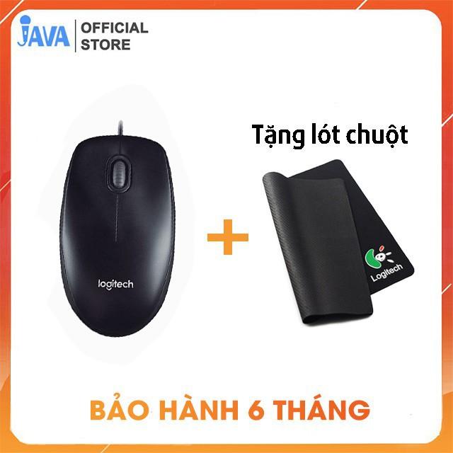 Chuột Dây LOGITECH M100 [ TẶNG LÓT CHUỘT ] - Laptop, chuột văn phòng, game thủ [ BH 6 THÁNG ]