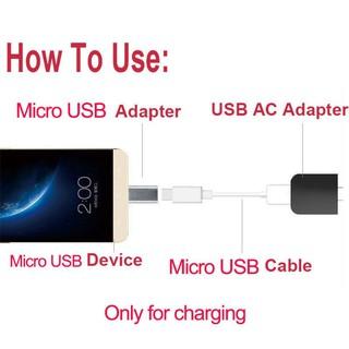 Đầu Chuyển Đổi Micro Usb Sang Đầu Cắm Cho Điện Thoại Samsung Xiaomi Huawei Htc