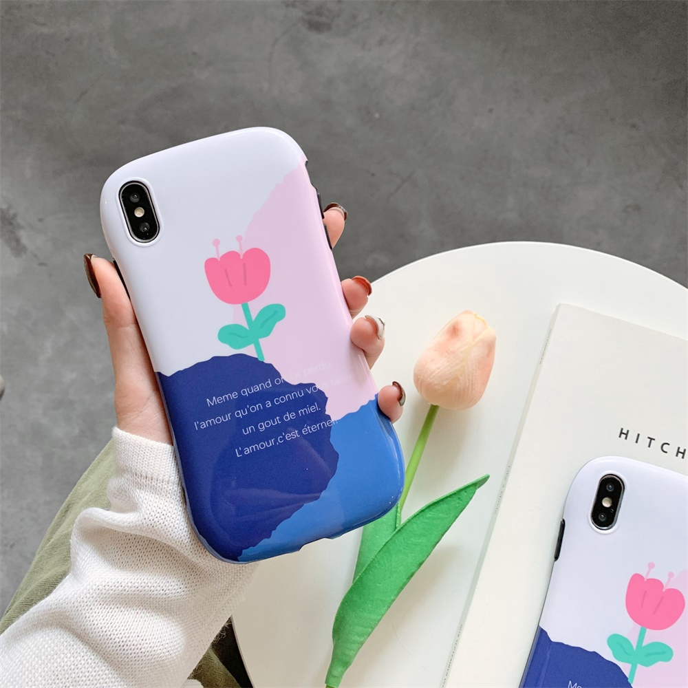 casing for IPhone XsMax /7/8plus for iphone small flower simple cute iphonecases